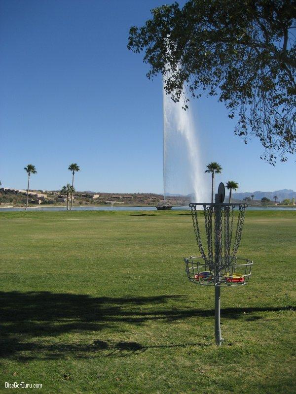 disc golf course equipment: